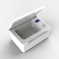 3/6 Hour Timer Electronic UV light Hearing aid dryer ear aid daily maintenance dehumidify hearing device new aid drying case