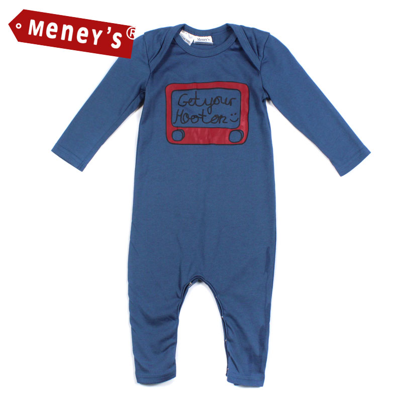 Newborn 7-12 Months Roupas Bebe Baby Boy Clothes Long-sleeve Baby Conjoined Creeper Cartoon Romper Infant Baby Costume Jumpsuits рубашки fashion up рубашки