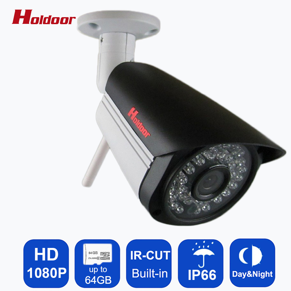 IP Camera 1080p wifi support Micro SD Card Outdoor Waterproof Mini Wireless Cctv Security System home cam surveillance infrared ip camera 720p wifi hd support micro sd slot waterproof cctv security wireless mini p2p outdoor infrared ir network home cam