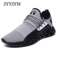 ZYYZYM Men Casual Shoes Breathable Light Outdoor Sneakers Man Tenis Masculino Zapatos Hombre Sapatos