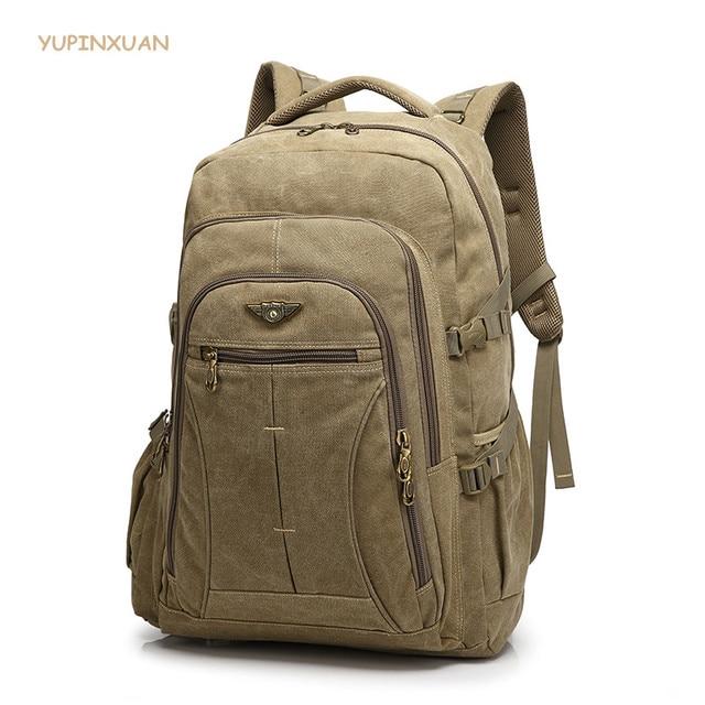 Aliexpress.com : Buy YUPINXUAN 40 Liter Canvas Backpacks Men Large ...