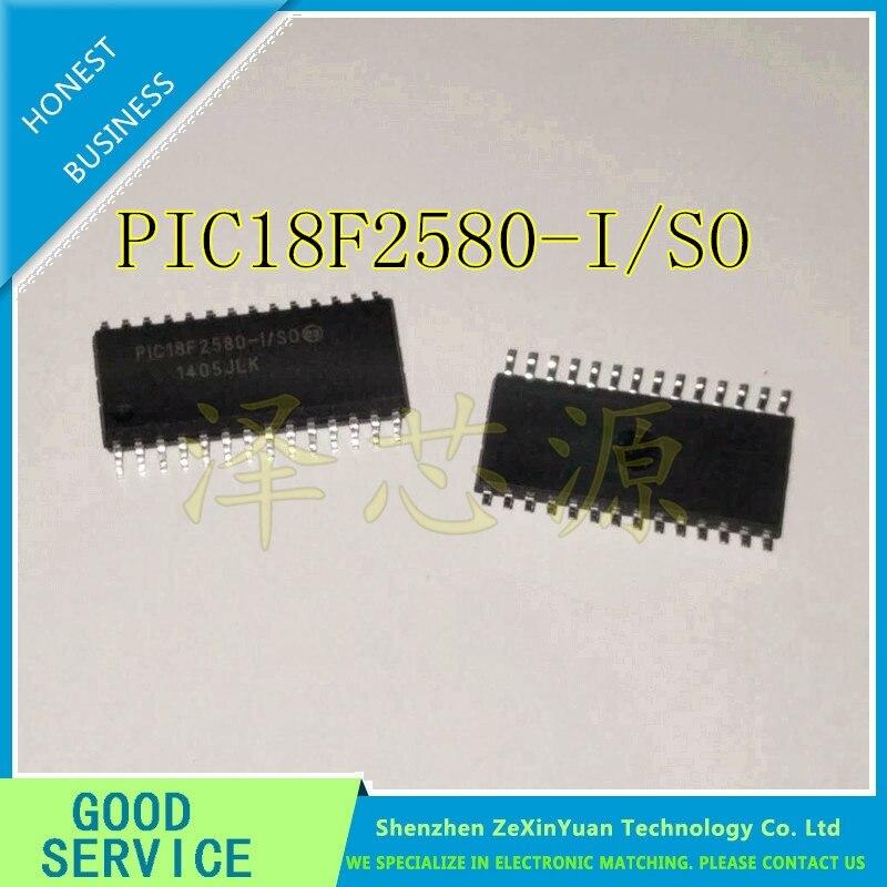 10PCS/LOT PIC18F2580-I/SO PIC18F2580 18F2580 SOP28 NEW