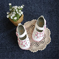 New 2016 Summer Lighted Sandals Baby Shoes Fretwork Flowers Baby Sandals Soft Girls First Walkers  #2983