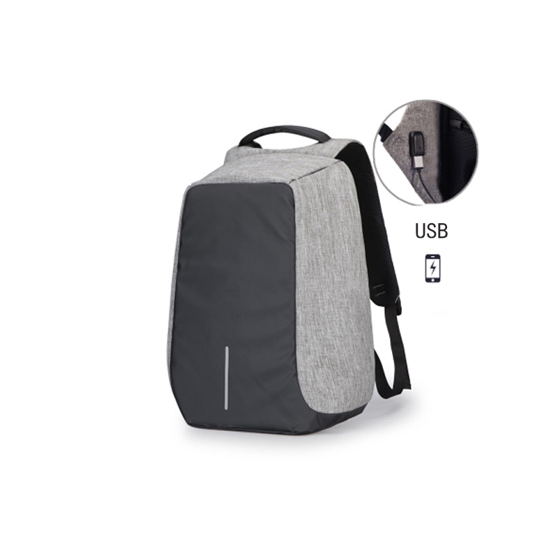 New anti theft Water proof backpack brief school bag with 17L Capacity Business USB Backpack for 15 inches of computer