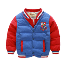 Top high quality kids jackets Mixed colours autumn winter child boys coat jacket ladies outerwear trend youngsters garments 6-10yr