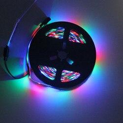 Светодиодная лента WoodPow 0,5 M-5 M, супер яркая, 2835 RGB, зеленый, красный, синий, теплый белый, комплект, не водонепроницаемые ленты, гибкий светильн...