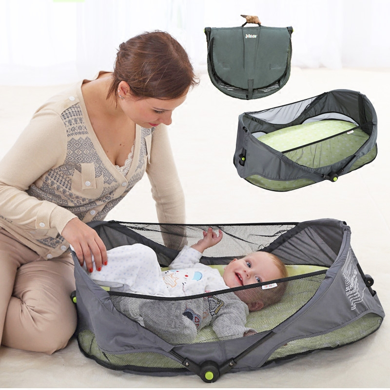 Multifunctional portable crib newborn travel bed foldable simple bed car cradle ...