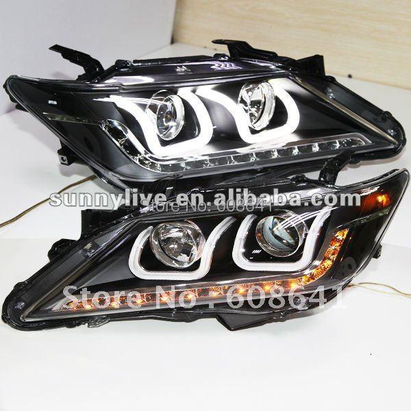 Pro TOYOTA Aurion Camry LED pásek typu U typu Andělské oči LED V1