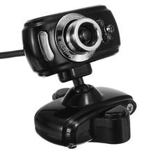 Rotatable 3LED USB 30M Mega HD Webcam Web Cam Camera+Micphone for Win 7 8 for Windows for VISTA 32bit PC Computer Laptop Desktop