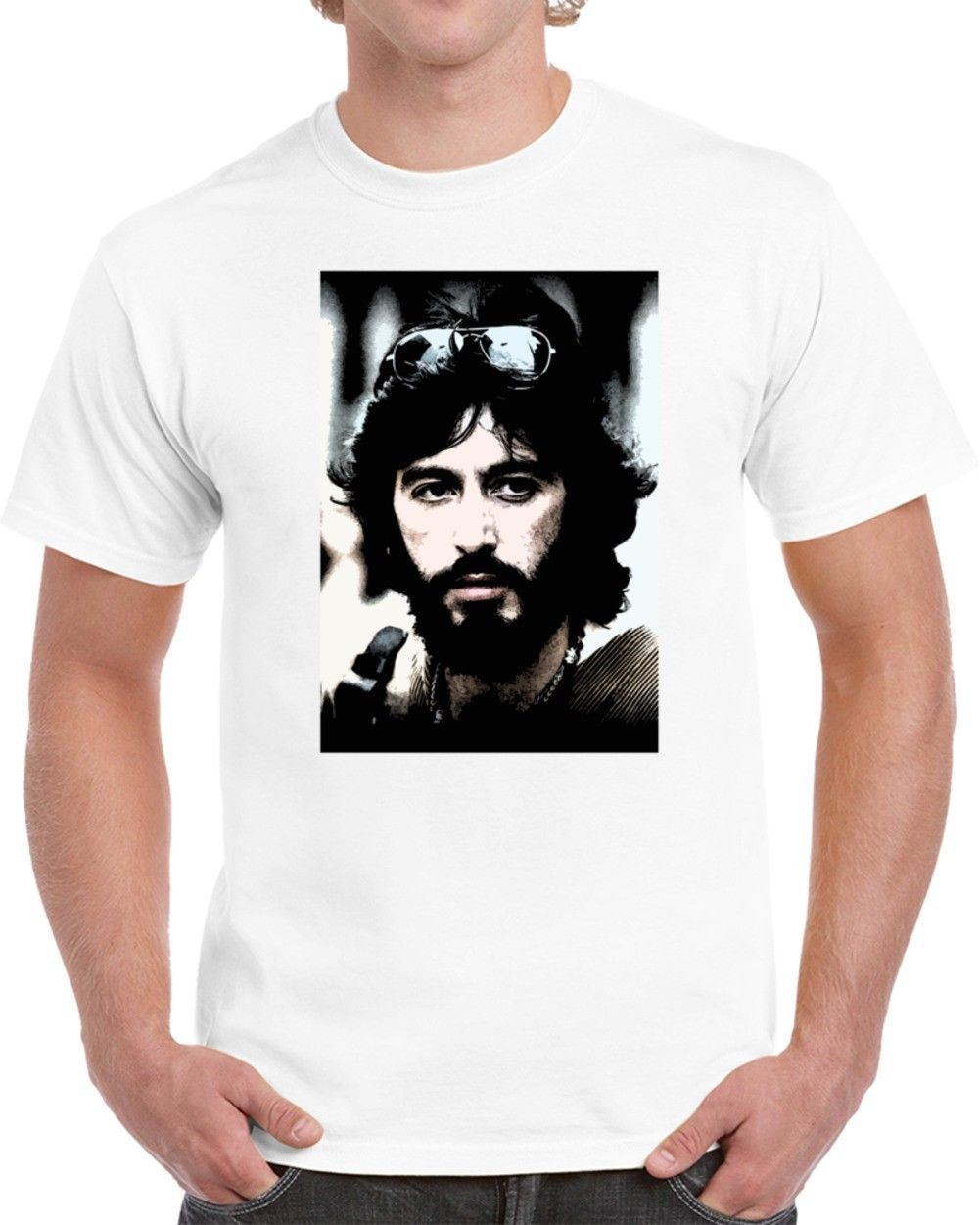 Serpico Al Pacino 70s Cop Cult Movie Cool Fan T Shirt Cool Casual pride t shirt men Unisex New Fashion tshirt free shipping image