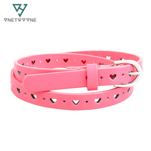 New Belts For Kids Girls Boys Kids PU Belts Samll Belt For Baby Little Girl Jeans Belt Child Free Shipping P14604