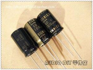 Image 2 - 10Pcs/30Pcs ELNA SILMIC IIในนามของ100UF/50V Electrolyticตัวเก็บประจุ (2012 Origlกระเป๋าOriglกล่อง) จัดส่งฟรี