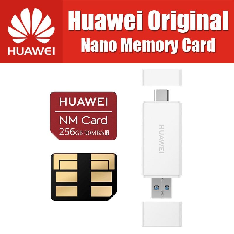 90 mb/s 100% Original Huawei NM Karte Nano 64 gb/128 gb/256 gb gelten Mate20 Pro mate20 X Mit USB3.1 Gen 1 Kartenleser