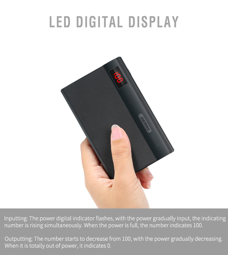 remax 10000mah power bank 6