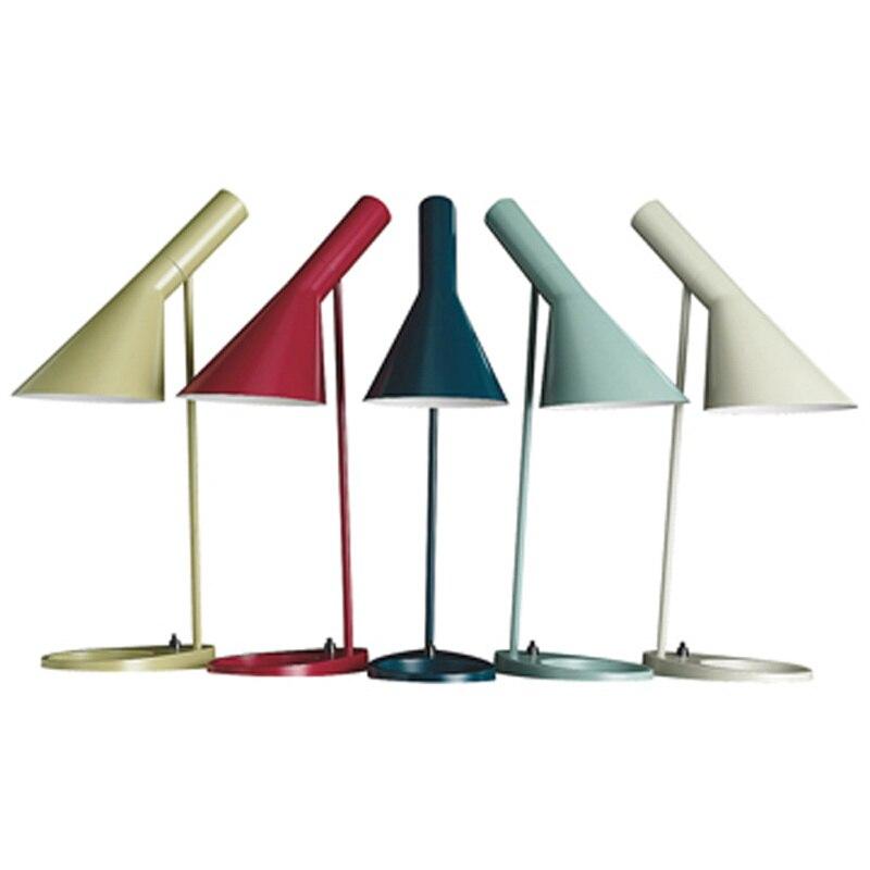 Луи Поульсен AJ настольная лампа дизайна Арне Якобсена Внутреннее освещение ночники/aj настольная лампа/черный стол лампа
