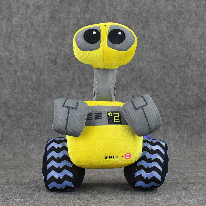 High quality Wall E Movie Plush 28cm Wall E Robot Plush Walle Plush Stuffed font b