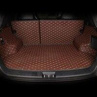 Изготовленный на заказ коврик для багажника автомобиля для Land Rover Дискавери 3/4 freelander 2 Range Rover спортивные аксессуары для Evoque стайлинга багажн