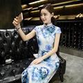 Charming Chinese Women's Long Dress Evening Dress Cheongsam Size S M L XL XXL
