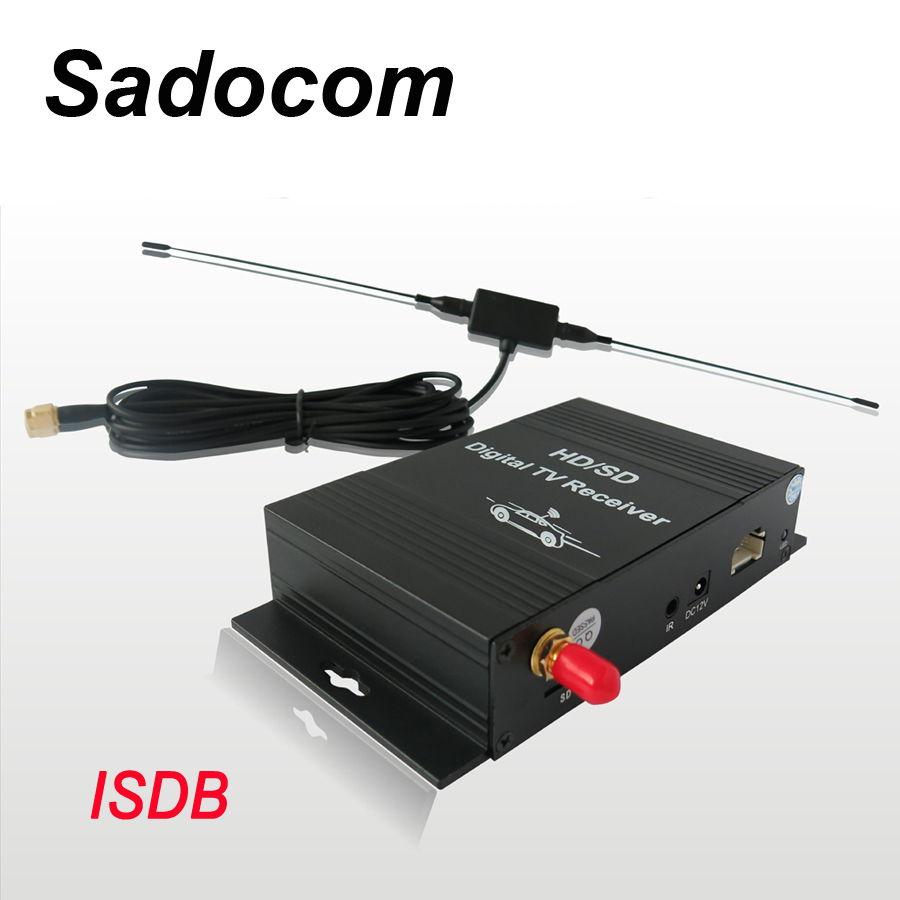 Sadocom Digital TV box DVB-ISDB,TV Receiver Box for car dvd android 9.0 For Brazil, Peru, Argentina, Chile, Ecuador
