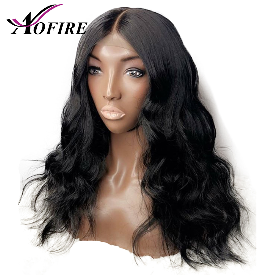 Body Wave Lace Front Human Hair Wigs Pre Plucke Peruvian Remy Hair Bleached Knots For Women