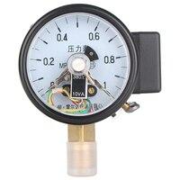 Leierda manometer mit elektrische kontakt druckschalter gas manometer oberen untergrenze control gauge YX-60