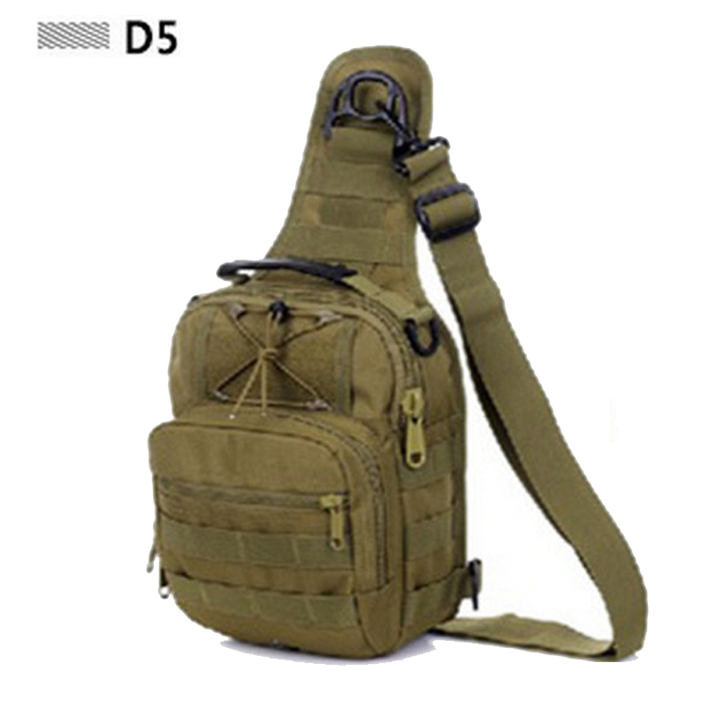 Women Messenger Bag Outdoor Travel Sport Nylon Military Chest Pack Cross Body Sling Single Shoulder Men Tactical Chest Bag Climbing Bags Sports & Entertainment