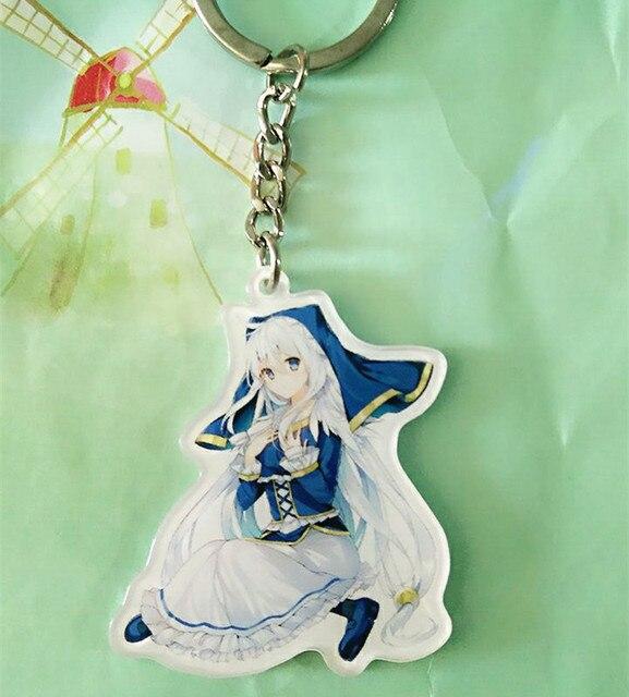 US $2 99 |Anime KonoSuba Keychain kono subarashii sekai ni shukufuku Figure  Luna Satou Kazuma Keyrings Pendant Collect Cosplay Props Gift on