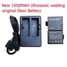 Acción Cámara Batería Recargable con Cargador Universal para SJ4000 SJCAM SJ5000 H3 h8 h3r h8r Eken w9 SJ6000 GITUP2 w9r h9 h9r