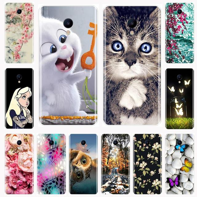 Phone Case For Meizu M6 M6S M5C M5 M5S M3S M3 M2 Soft Silicone TPU Fashion Painted Back Cover For Meizu M6 M5 M3 M2 Note Case