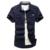 Envío Libre Algodón de manga Corta camisas para Hombre de manga Corta Más El Tamaño Uniforme Militar Camisa Suelta de Algodón Acolchado Camisetas del ejército