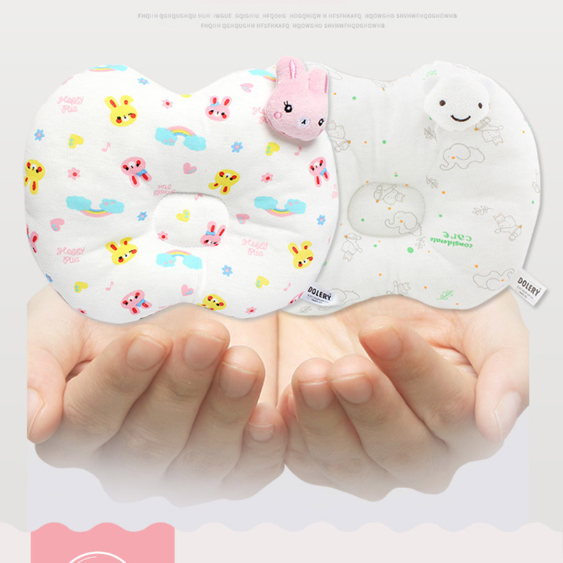 Bedding Cartoon Baby Pillow Neck Protection Pillow For Newborns To Protect The Babys Head