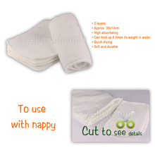 Reusable Washable Cloth Baby Nappy Diaper – Microfibre bamboo charcoal