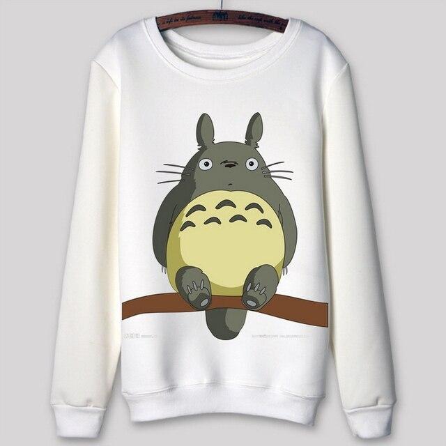 68de757e858a B5126 Totoro dibujos animados en 3D Print sudaderas con capucha Unisex Harajuku  sudadera mujeres ropa de