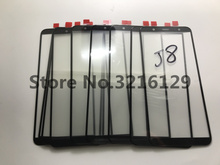 50pcs/LOT Original OME For Samsung Galaxy J8 2018 J810 J810F J810G J810DS J810F LCD Front Touch Screen Glass Outer Lens обои ome 3d dz03