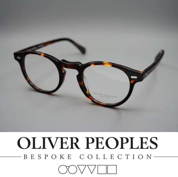 bd8bad9b720 47MM !!! oliver peoples vintage eyeglasses frames glasses frames for women OV5186  Gregory Peck reading glasses men FREE SHIPPING