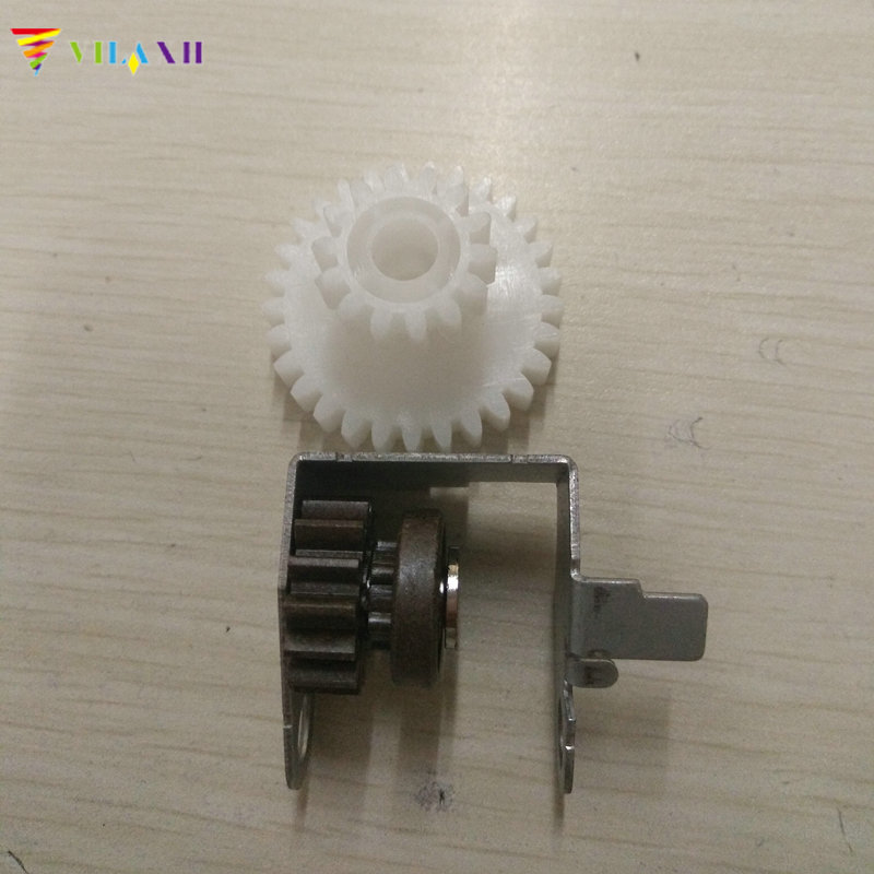 2Pcs Fuser Drive Gear For HP 5000 5100 For Canon LBP-840 850 870 880 910 1610 1620 1810 1820 Printer Copier Parts 12pcs opc drum drive motor gear for hp laserjet 5200 for canon lbp3500 copier spare parts