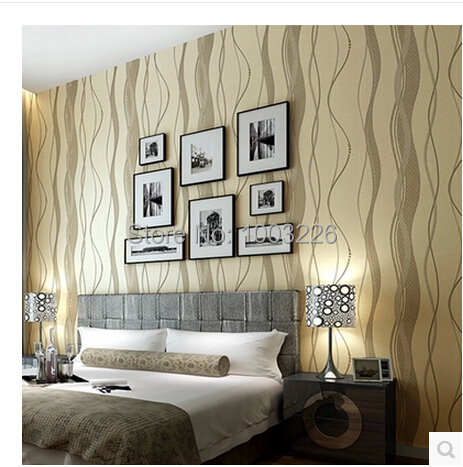 ФОТО beibehang papel de parede papel parede Stripe Wallpaper roll mural Modern Striped Wall Paper for Living Room Bedroom Home Decor