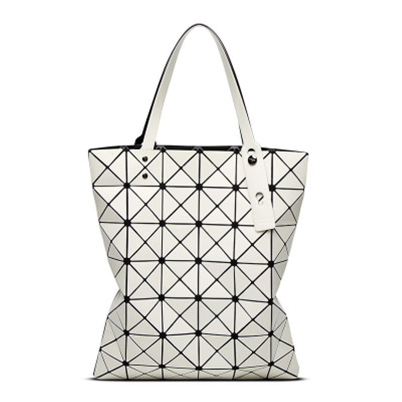 women 39 s bag new Shoulder Bags Folding Bag Woman Bags Bag Fashionable Woman Geometric Package women bags torebki damskie in Shoulder Bags from Luggage amp Bags