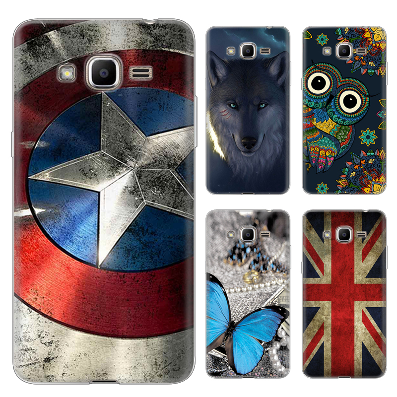 low priced 16046 cf8d1 US $4.99 |Cartoon Pattern case for Samsung Galaxy J2 prime colorful Soft  Silicone TPU New arriva phone housing Protective back cover shell on ...