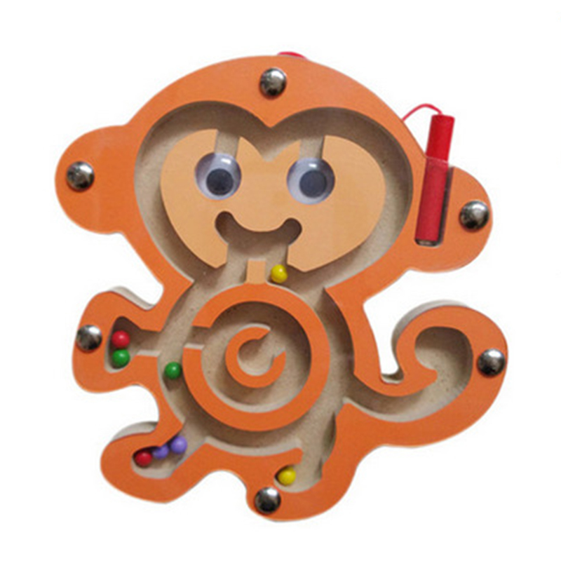 Wood game Maze Puzzle Labyrinth Baby toys  1