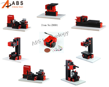 8 in 1 Mini Combined Lathe Machine tool Milling Drilling For Soft Metal or Wood Processing
