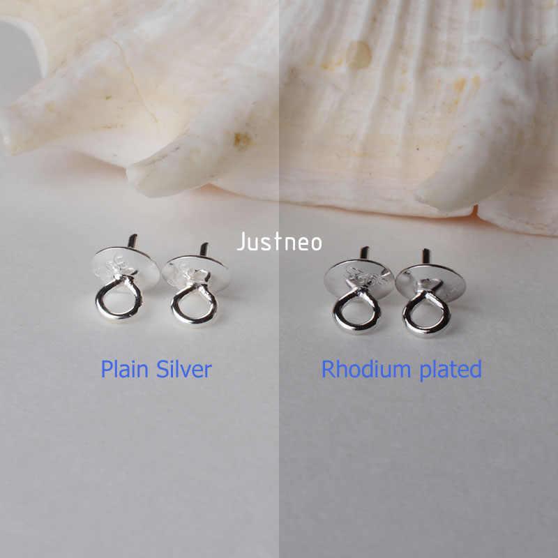 固体 925 純銀ペンダントコネクタ、カップとビーズキャップのためのネックレス、イヤリング、ブラブラスターリングシルバージュエリー、 1 ピース
