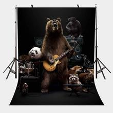 5x7ft Animal Band Backdrop Creative Photography Background and Studio Props
