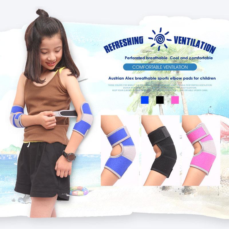 Kids Protection Shockproof Sponge Elbow Support Pads Depressurized Children Dance Sport Elbow Brace Keep Warm Protector