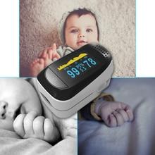 Медицинский оксиметр OLED Sleep PI/PR/SPO2/мониторинг параметров помогает лечение сна батарея мини черный/серый Палец Клип оксиметр