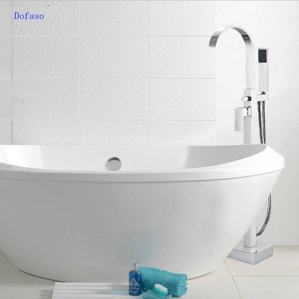 Aliexpress.com : Buy Dofaso Brand Bathroom Tub Shower Set Products Bath Mixer Banheira Floor
