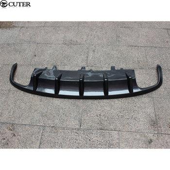 A7 S7 Carbon Fiber Rear Bumper Lip Auto Car Diffuser For Audi A7 S7 MTM style 2013-2014