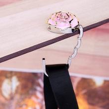 Vktech Portable Umbrella Clip Hanger Folding Handbag Hook Table Desk Hanging Holder Multi Color