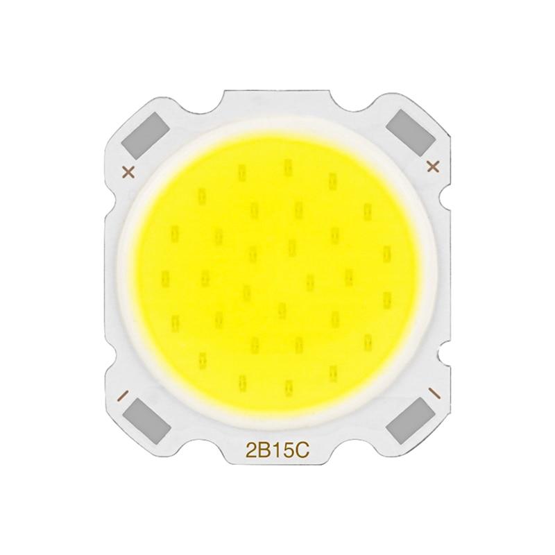 LED COB Chip 15W 12W 10W 7W 5W 3W Warm White Cold White High Brightness Lumen 11mm 18mm LED Source Chip For Spotlight Downlight