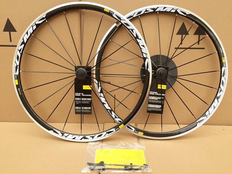 HEIßER Verkauf 700C Legierung Räder Cosmic Road Fahrrad Bike Rad V Bremse Aluminium Laufradsatz Fahrrad Räder Felgen